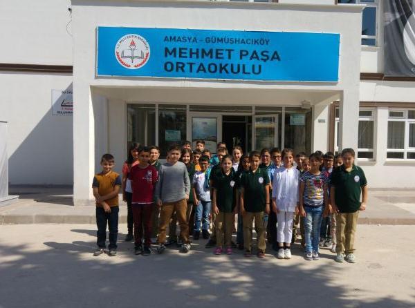 AMASYA GÜMÜŞHACIKÖY Mehmet Paşa Ortaokulu